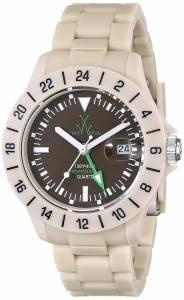 [トイウォッチ]Toy Watch 腕時計 Jet Lag Analog Display Swiss Quartz Beige Watch TOYJET06SY ユニセックス [並行輸入品]