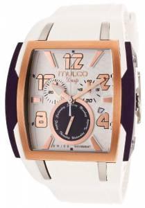 [マルコ]MULCO 腕時計 Deep Chronograph Silver Dial Silicone Watch MW113186017 ユニセックス [並行輸入品]