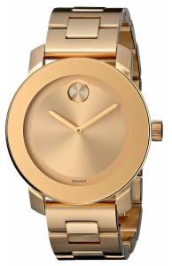 [モバード]Movado 腕時計 Bold Analog Display Swiss Quartz Gold Watch 3600085 レディース [並行輸入品]