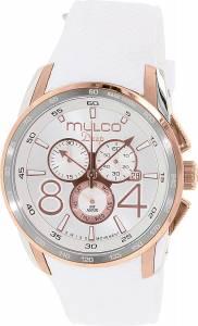 [マルコ]MULCO 腕時計 Stainless Steel Chronograph Deep Collection White Dial Watch MW1-29849-013 [並行輸入品]