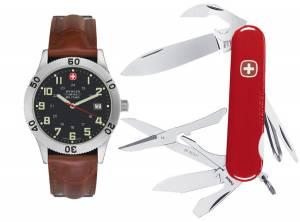 [ウェンガー]Wenger 腕時計 Grenadier Swiss Military Watch & Teton Swiss Army Knife 69265 メンズ [並行輸入品]