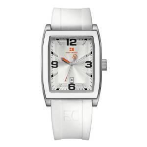 [ヒューゴボス]HUGO BOSS 腕時計 Hugo Boss Orange Silver Dial White Rubber Watch 1512684 メンズ [並行輸入品]