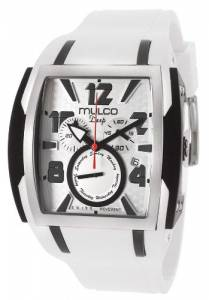 [マルコ]MULCO 腕時計 Deep Square New 2012 collection white band Watch MW1-13186-015 [並行輸入品]