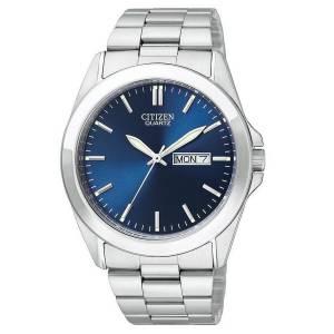 [シチズン]Citizen 腕時計 Quartz Day Date Blue Dial Watch - BF0580-57L 0 メンズ [逆輸入]