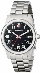 [ウェンガー]Wenger 腕時計 Analog Display Swiss Quartz Silver Watch 72806 メンズ [並行輸入品]