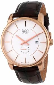 [イーエスキューモバード]ESQ Movado 腕時計 esq CAPITAL tm Round GoldPlated Watch 7301414 メンズ [並行輸入品]