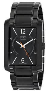 [イーエスキューモバード]ESQ Movado 腕時計 esq SYNTHESIS tm Rectangular Black IonPlated Watch 7301411 メンズ [並行輸入品]