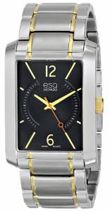 [イーエスキューモバード]ESQ Movado 腕時計 esq SYNTHESIS tm Rectangular TwoToned Watch 7301412 メンズ [並行輸入品]