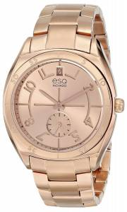 [イーエスキューモバード]ESQ Movado 腕時計 esq ORIGIN tm TonneauShaped RoseGold Plated Watch 7101402 レディース [並行輸入品]