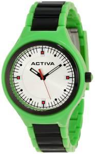 [インヴィクタ]Invicta 腕時計 Activa By Silver Dial Green Plastic Watch AA200-013 ユニセックス [並行輸入品]