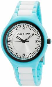 [インヴィクタ]Invicta Activa By Light Blue Silver Dial Light Blue and White Plastic AA200-011
