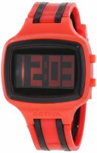 [インヴィクタ]Invicta Activa By Black Digital Dial Red and Black Polyurethane Watch AA400-007
