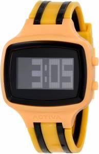 [インヴィクタ]Invicta Activa By Black Digital Dial Mustard and Black Polyurethane AA400-020