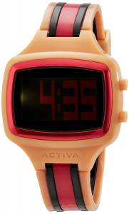 [インヴィクタ]Invicta 腕時計 Activa By Watch with Salmon, Black, and Pink Band AA401-024 ユニセックス [並行輸入品]