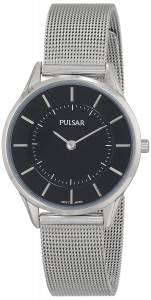[パルサー]Pulsar 腕時計 Stainless Steel Watch with Mesh Strap PTA501X レディース [並行輸入品]