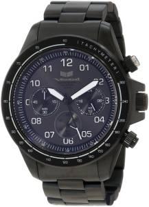 [ベスタル]Vestal 腕時計 ZR2 Black Ion Plated with White Lume Chronograph Watch ZR2010 ユニセックス [並行輸入品]