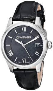 [ウェンガー]Wenger 腕時計 Analog Display Swiss Quartz Black Watch 0521.104 レディース [並行輸入品]