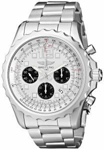 [ブライトリング]Breitling 腕時計 Chronospace automatic Silver Dial Watch A2336035-G718SS メンズ [並行輸入品]