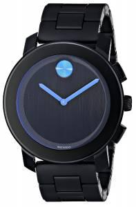 [モバード]Movado 腕時計 Bold Analog Display Swiss Quartz Black Watch 3600099 メンズ [並行輸入品]