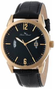 [ルシアン ピカール]Lucien Piccard Watzmann Gold IonPlated Watch with Black 11561-YG-01