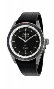 [オリス]Oris 腕時計 Artix GT Day Date Black Dial Automatic Rubber Strap Watch 735-7662-4154-RS メンズ [並行輸入品]
