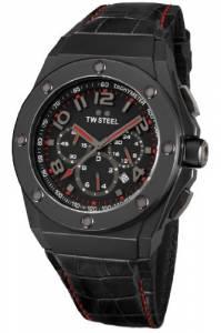 [ティーダブルスティール]TW Steel 腕時計 CEO Tech Black Dial Watch CE4008 TWS メンズ [並行輸入品]