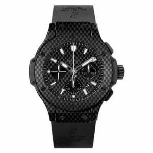 [ウブロ]Hublot 腕時計 Big Bang Black Carbon Fiber Dial Automatic Chronograph 301.QX.1724.RX メンズ [並行輸入品]