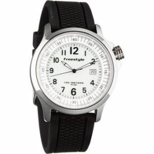 [フリースタイル]Freestyle 腕時計 USA Ranger Watch SS/Black Silicone, One FS91301 [並行輸入品]