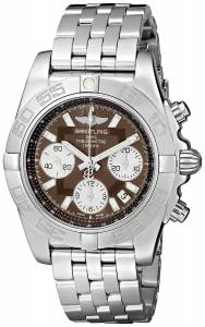 [ブライトリング]Breitling 腕時計 Analog Display Swiss Automatic Silver Watch AB014012-Q583 メンズ [並行輸入品]