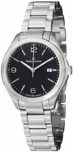 [モーリス ラクロア]Maurice Lacroix 腕時計 Miros Black Dial Stainless Steel Watch MI1014-SS002-330 [並行輸入品]