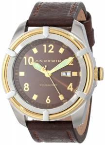 [アンドロイド]Android 腕時計 Naval Analog JapaneseQuartz Brown Watch AD531BGBN メンズ [並行輸入品]
