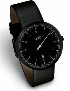 [ボッタデザイン]Botta-Design 腕時計 UNO 40 BLACK EDITION One Hand Watch by 219010BE メンズ [並行輸入品]