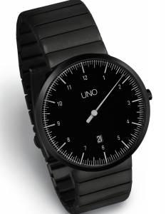 [ボッタデザイン]Botta-Design 腕時計 UNO 40 BLACK EDITION One Hand Watch by 219011BE メンズ [並行輸入品]
