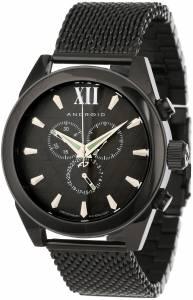 [アンドロイド]Android 腕時計 Vertigo Analog SwissQuartz Black Watch AD664AK メンズ [並行輸入品]