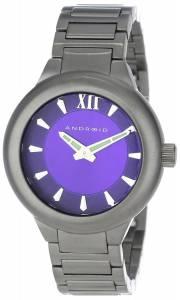 [アンドロイド]Android 腕時計 Radius Gunmetal Analog JapaneseQuartz Grey Watch AD669BKPU ユニセックス [並行輸入品]