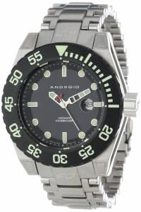 [アンドロイド]Android 腕時計 Silverjet Analog JapaneseAutomatic Silver Watch AD656BK メンズ [並行輸入品]