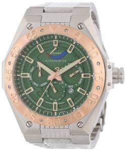 [アンドロイド]Android 腕時計 Enterprise Analog JapaneseAutomatic Silver Watch AD638BRGR メンズ [並行輸入品]