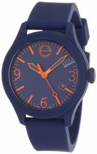 [イーエスキューモバード]ESQ Movado 0 ESQ ONE Stainless Steel Watch with Navy 7301441