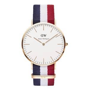 [ダニエル ウェリントン] Daniel Wellington ダニエルウェリントン メンズ レディース 腕時計 男女兼用 時計 ナイロンベルト 0103DW