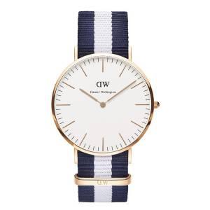 [ダニエル ウェリントン] Daniel Wellington ダニエルウェリントン メンズ レディース 腕時計 男女兼用 時計 ナイロンベルト 0104DW