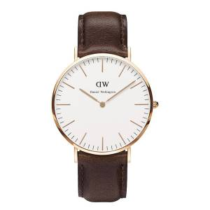 [ダニエル ウェリントン] Daniel Wellington ダニエルウェリントン メンズ レディース 腕時計 男女兼用 時計 レザー 0109DW