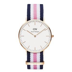 [ダニエル ウェリントン] Daniel Wellington ダニエルウェリントン メンズ レディース 腕時計 男女兼用 時計 ナイロンベルト 0506DW