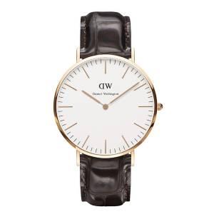 [ダニエル ウェリントン] Daniel Wellington メンズ レディース 腕時計 男女兼用 時計 レザー 0111DW