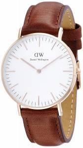 [ダニエル ウェリントン]Daniel Wellington 36mm メンズ レディース 腕時計 男女兼用 レザー アナログ 0507DW