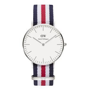 [ダニエル ウェリントン] Daniel Wellington ダニエルウェリントン メンズ レディース 腕時計 男女兼用 時計 ナイロンベルト 0606DW