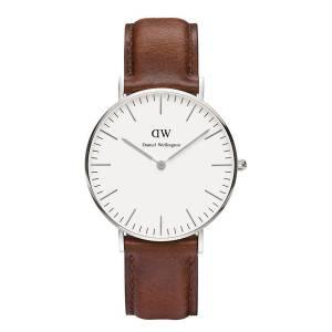 [ダニエル ウェリントン] Daniel Wellington ダニエルウェリントン メンズ レディース 腕時計 男女兼用 時計 レザー 0607DW