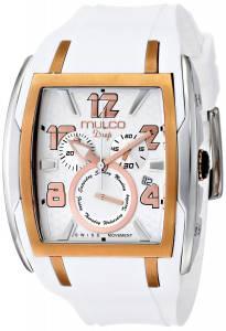 [マルコ]MULCO 腕時計 Analog Display Swiss Quartz White Watch MW1-13187-013 ユニセックス [並行輸入品]