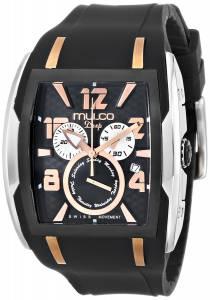 [マルコ]MULCO 腕時計 Analog Display Swiss Quartz Black Watch MW1-13187-025 ユニセックス [並行輸入品]