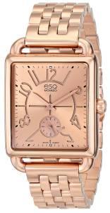[イーエスキューモバード]ESQ Movado 腕時計 ESQ by Movado Origin Rose GoldPlated Watch 07101409 レディース [並行輸入品]