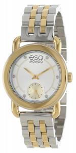 [イーエスキューモバード]ESQ Movado 腕時計 ESQ by Movado Classica TwoTone Watch 07101411 レディース [並行輸入品]